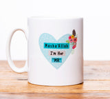 MGB 08 - Mr and Mrs Mug Set