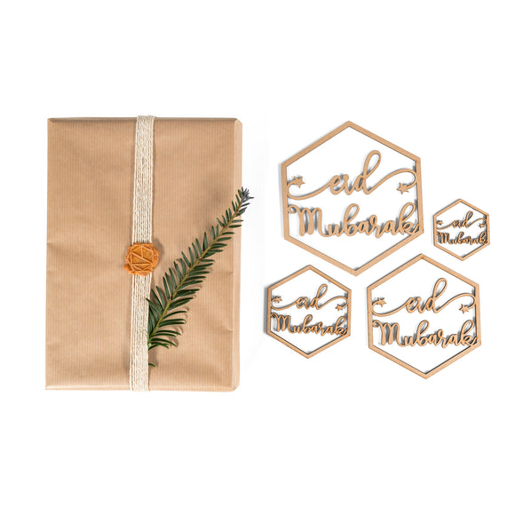 LC 02 - Eid Mubarak Hanging Ornaments Pack - Islamic Moments