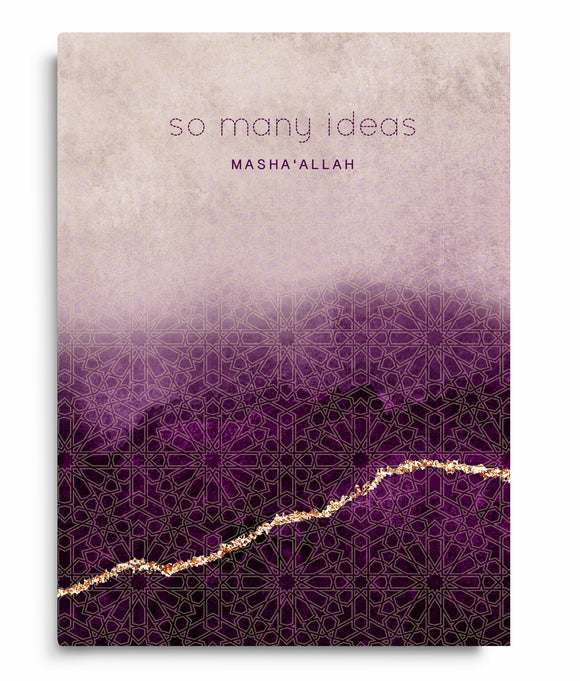 PB 06 - So Many Ideas ... Masha'Allah