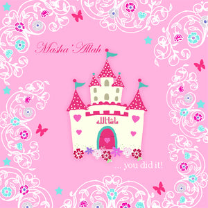 PS 04 - Masha'Allah You Did it... - Pink Castle - Islamic Moments