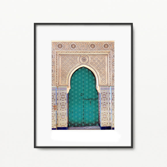 Moroccan Darbar in Jade - Home Decor - Islamic Moments