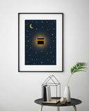 Kaaba Midnight - Home Decor