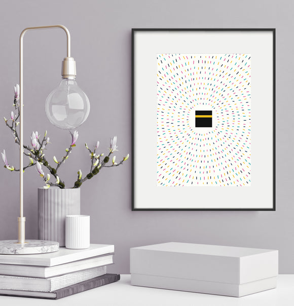 Kaaba Pilgrims - Home Decor - PT 16