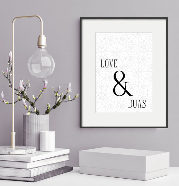 Love & Duas - Home Decor
