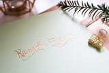 RC 01 - Ramadan Kareem - Rose & Co - Gold Foiled - Sage