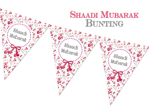 FWE 01 - Shaadi Mubarak Bunting - Islamic Moments