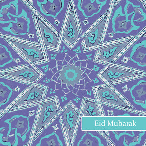 TK 02 - Eid Mubarak - Topkapi - Blue Star - Islamic Moments