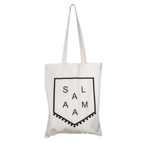 Cotton Tote Bag - Salaam Pennant - CB 04