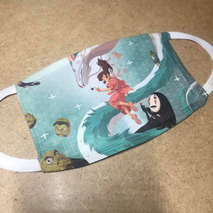 Haku Spirited Away Face Covering / Mask