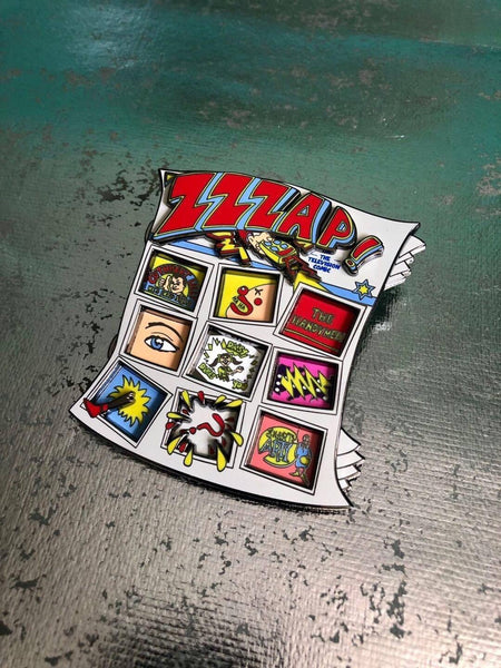 Zzzap! Comic Pin