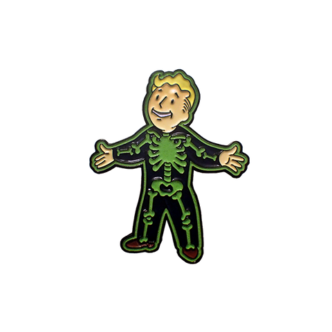 'The Glowing One' Adamantium Glow In The Dark Fallout Pin
