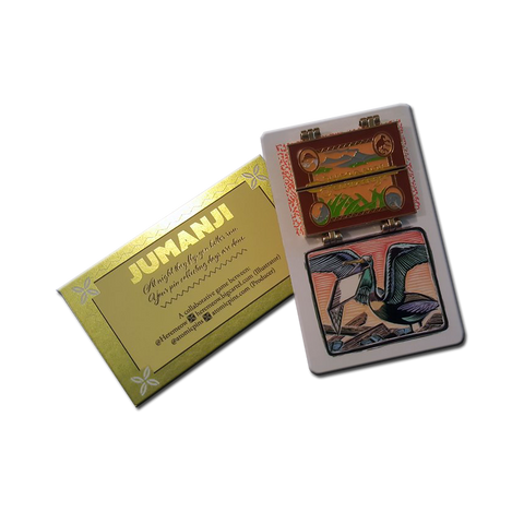 Jumanji 2.0 Limited Edition Deluxe Hinge Enamel Pin