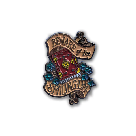 Beware the Smiling DM - Dungeons & Dragons D&D Enamel Pin