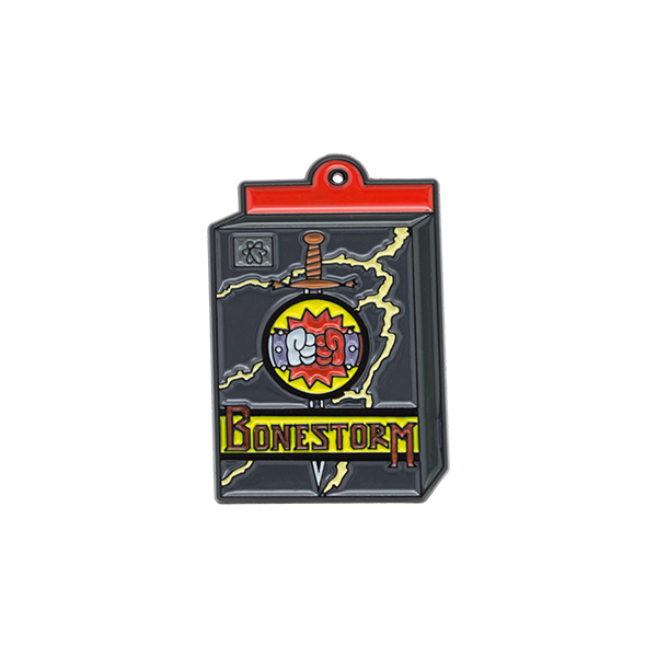 ''Bonestorm'' Simpsons Pin