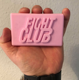 Fight Club Inspired Soap - Homemade Pink Soap Bar - Scented