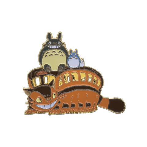 My Neighbor Totoro -  Ghibli / Gold Catbus Pin