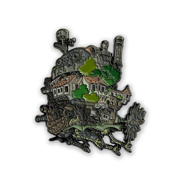 Howl's Moving Castle Enamel Pin Ghibli