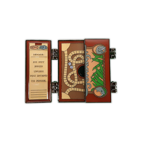 Jumanji 1.0 Original Edition Deluxe Hinged Enamel Pin