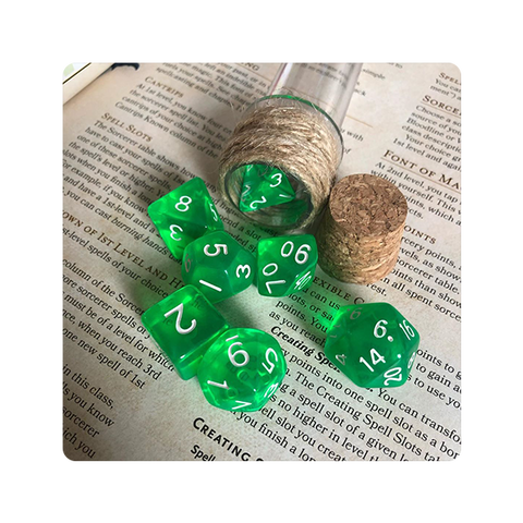 Potion Dice Set D&D