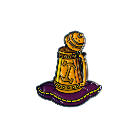 Stonecutters Tankard Simpsons Pin