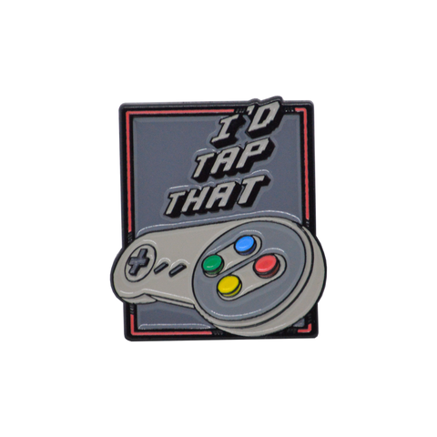 I'D TAP THAT SNES Pin