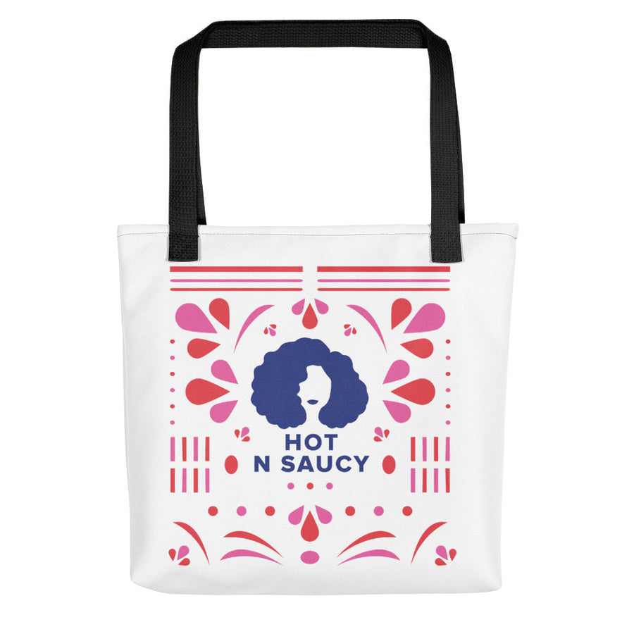Hot N Saucy Tote bag