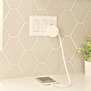 Available - White BibiCharger Wall Charger