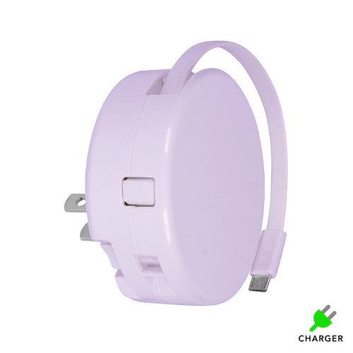 Coming Soon - Light Purple BibiCharger Wall Charger