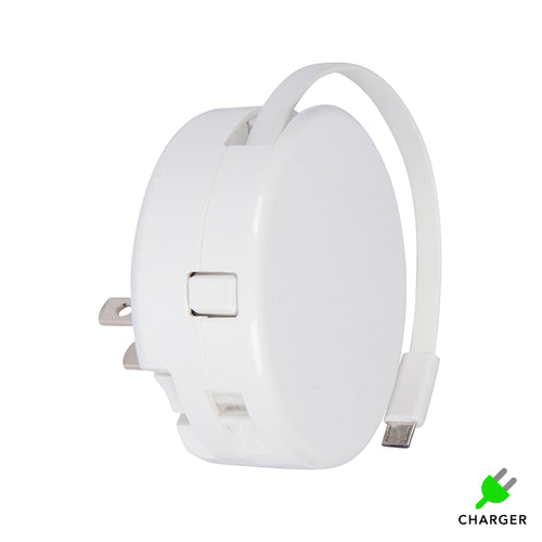 White BibiCharger Wall Charger