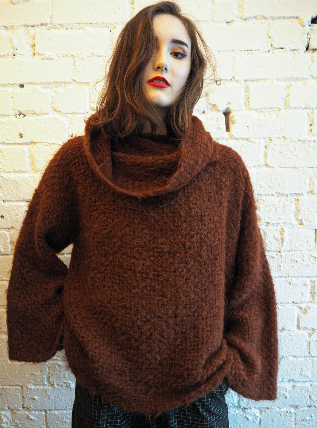 Amano Funnel Neck Jumper May delivery