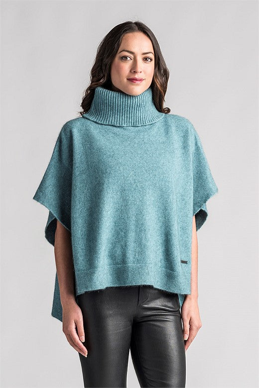 Lanarch Possum Roll Neck Cape