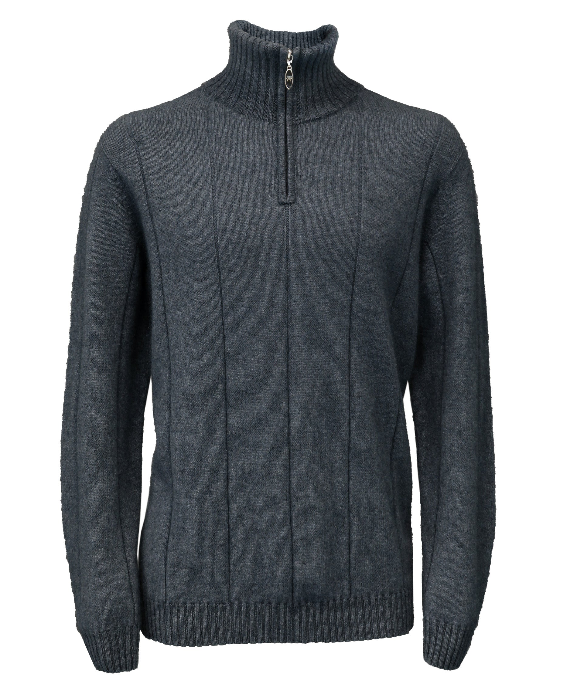 Javelin Zip Neck Possum Jumper
