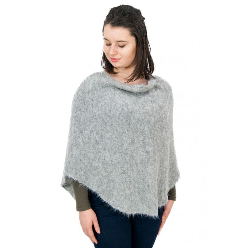 Baby Alpaca Bell Poncho