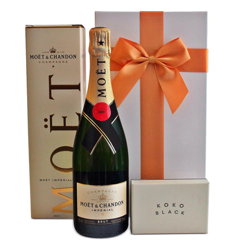 THE MOET AND KOKO HAMPER - blac-label-boxes