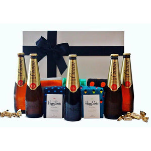 BEER & SOCKS HAMPER - blac-label-boxes