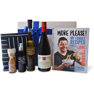 MANU FEILDEL MORE PLEASE GOURMET HAMPER - blac-label-boxes