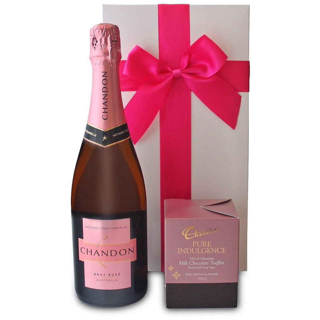 PINK INDULGENCE HAMPER - blac-label-boxes