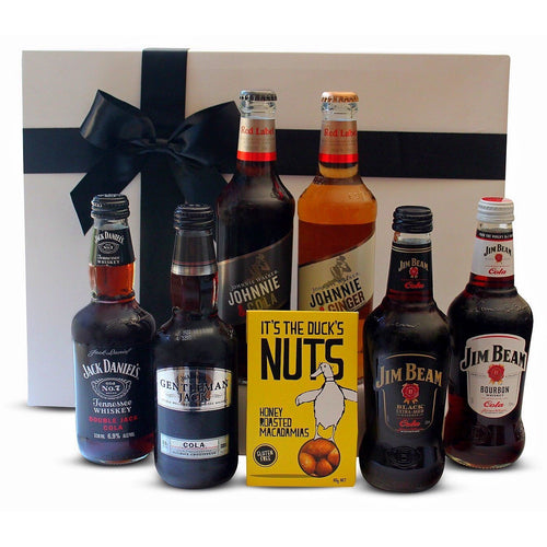 JIM, JACK & JOHNNIE HAMPER - blac-label-boxes