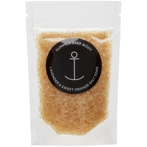 SUMMER SALT BODY - MINI SALT SOAK - LAVENDER & SWEET ORANGE
