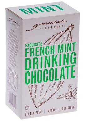 GROUNDED PLEASURES - FRENCH MINT DRINKING CHOCOLATE