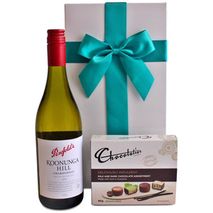 PENFOLDS KOONUNGA HILL DELICIOUSLY INDULGENT HAMPER - blac-label-boxes