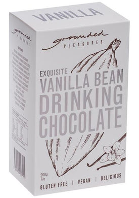GROUNDED PLEASURES - VANILLA BEAN DRINKING CHOCOLATE