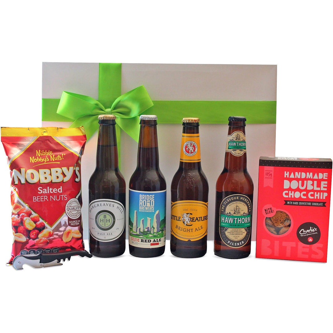 CRAFT BEER GOURMET HAMPER - blac-label-boxes