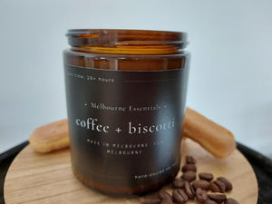 COFFEE AND BISCOTTI SOY CANDLE