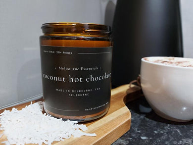 COCONUT HOT CHOCOLATE SOY CANDLE