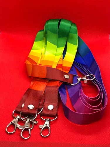 Multi Colored Lanyard