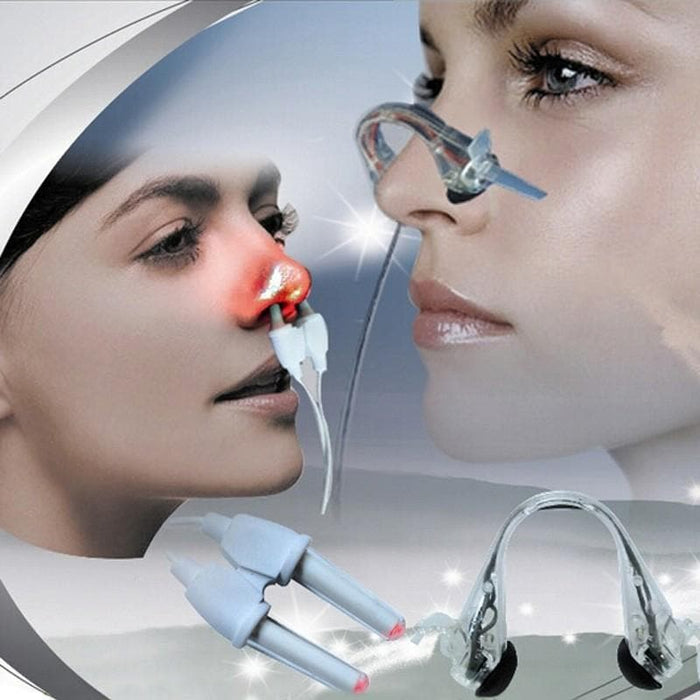2 In 1 Laser + Pulse Nose Rhinitis Massage Clip - LuxylGroup