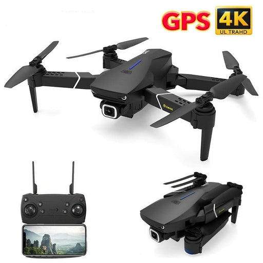 Eachine GPS FOLLOW ME WIFI FPV Quadcopter With 4K/1080P HD Wide Angle Camera-LuxylGroup, Inc.