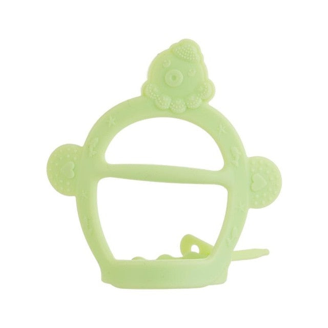 Baby Teether Toys Toddle Safe BPA Free Banana Teething Ring-LuxylGroup, Inc.