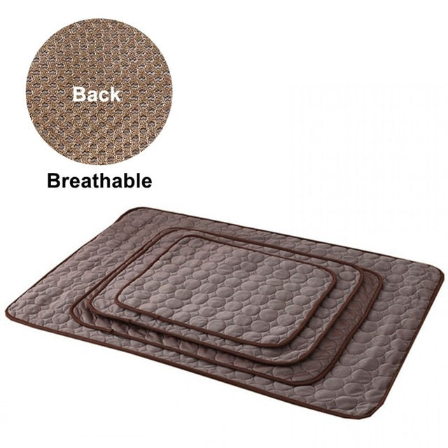Dog Mat Cooling Summer Pad Mat For Dogs Cat Blanket Sofa Breathable-LuxylGroup, Inc.